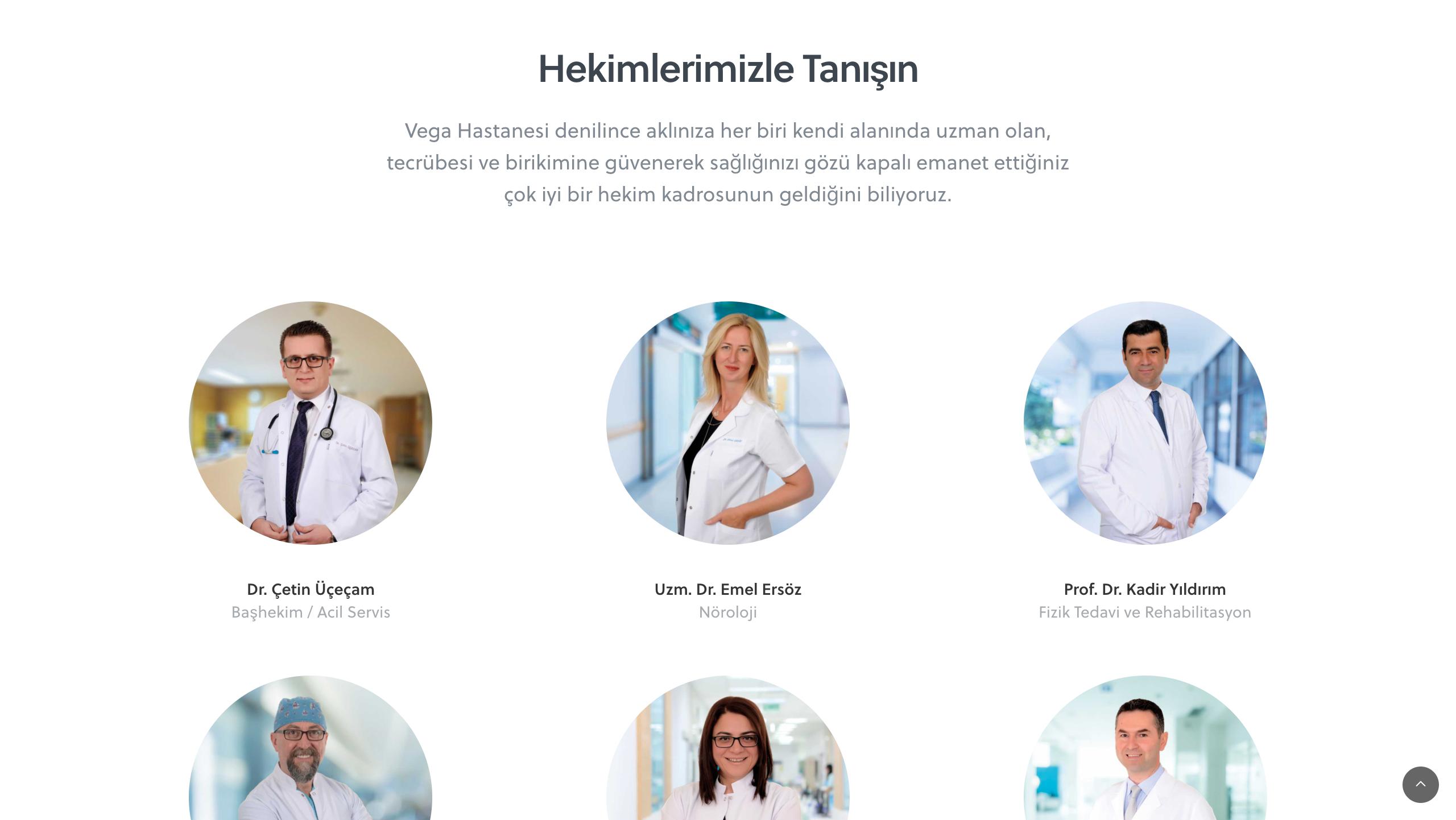 Profesyonel Doktor Websitesi